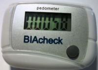 Podómetro cuenta pasos