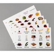 Tarjetas de Alimentos